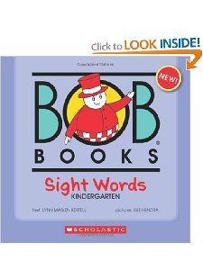 BOB Books: Sight Words: Kindergarten: Lynn Maslen Kertell, Sue Hendra: 9780545019231: Amazon.com: Books