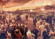 The Last Ball, by Aurélio de Figueiredo, 1905, Ilha Fiscal (Banquet Hall), Rio de Janeiro
