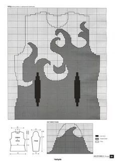 Knitting Machine Patterns, Knitting Charts, Knitting Stitches, Knitting Designs, Knitting Projects, Clothing Patterns, Cross Stitch Patterns, Knitting Patterns, Crochet Hat Sizing
