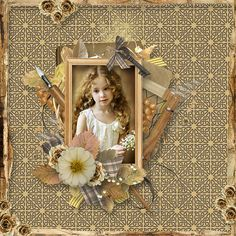 Layout using {Beautiful Past} Digital Scrapbook Kit by Eudora Designs available at PBP https://www.pickleberrypop.com/shop/product.php?productid=42222&page=1