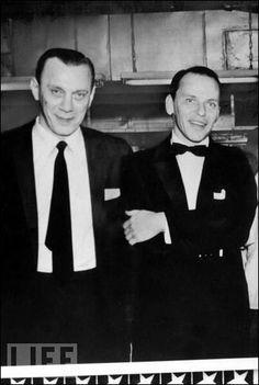 Frank Sinatra and Aniello Dellacroce