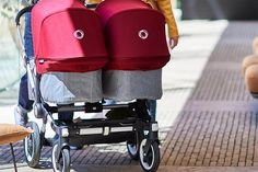 Looking for a twin pram for newborn twins? We take a look at the best twin prams that take two carrycots and can be used by twins from birth. Bugaboo, Poussette Yoyo Babyzen, Double Prams, Twin Pram, Best Prams, Twin Strollers, Nursing Chair, Pram Stroller, Future Maman
