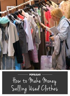 How to Actually Make Money Selling Your Used Clothes Save Money on Clothes #SaveMoney