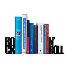 Aparador de Livros Rock n' Roll - 16,5 x 8 x 10,7 cm /20,7 x 8 x…
