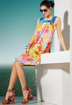 Be little smart and try different types of kurtis to create unique style statement. Wear casual flared or designer kurti for cool college style, anarkalis for wedding, straight long kurta for impre…