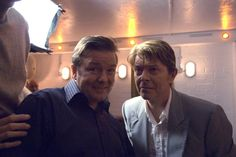 David Bowie appeared on BBC series Extras with Ricky Gervais (who played Andy Millman) in 2006