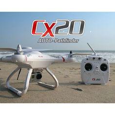 Orginal Cheerson CX20 CX-20 2.4G 4CH 6Axle Gyro RC Quadcopter Mode Professional Drone Open-source Version Auto-Pathfinder RTF  #Drone #AerialPhotography #TheDroneHut #Quadcopters #Travel