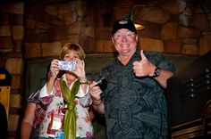 John Lasseter and Kathy Magnum took photos of us and we took photos of them!