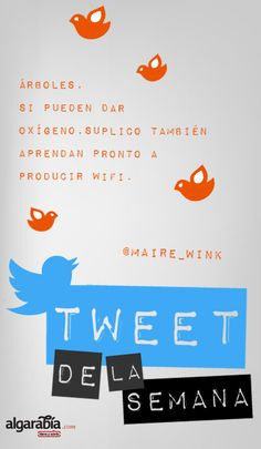 Tweet de la semana por @maire_wink