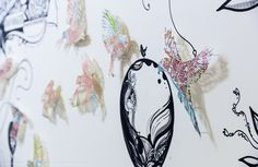 Somerset House Commisson, claire brewster, map, paper, art, contemporary art, commission, birds, vintage, sculpture, paper cut, nature, wildlife art