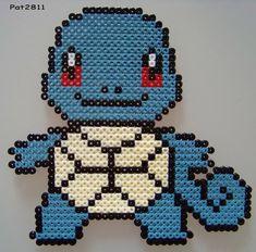 perles a repasser : pokemon - Les loisirs de Pat Perler Bead Art, Perler Beads, Pixel Art, Pokemon Pokedex, Hama Beads Design, Pearler Bead Patterns, Pixel Pattern, Lego, Fuse Beads