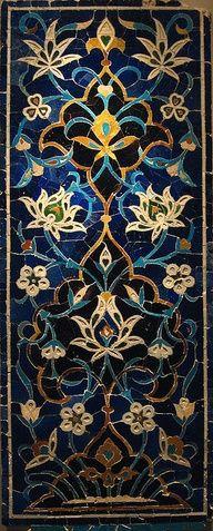 Amazing Persian Mosaic #Persian #Mosaic #design