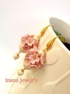 Pendientes pendientes hechos a mano pendientes de boda