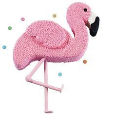 Pink Flamingo Cake More