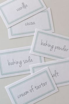 pretty pantry free printable labels via www.julieblanner.com - love this & right before the holidays!!