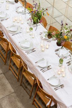 gedekte tafel, bruiloft, Flinkefarm, It Flinkeboskje photocredits: Hans Mossel