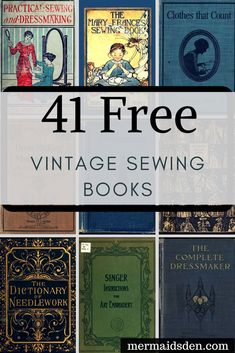 40+ Free Sewing Book