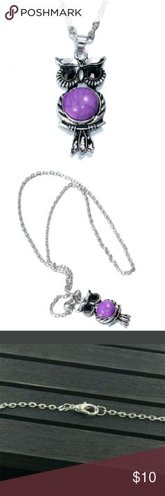 Buy 1 Crystal Owl Necklace Get 1 50% off Pink Crystal Owl Pendant Rhinestone Necklace. Reasonable Offers Considered! Jewelry Necklaces