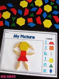 Composing Shapes is such a fun topic in first grade and kindergarten geometry…