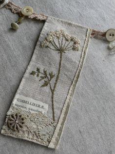 botanical bunting... by gentlework