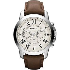 Foto 1 - Relógio Masculino FOSSIL Analógico FFS4735 Z Mens Watches Leather,  Fossil Leather 6f5d6693ed