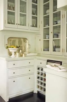 Beautiful cabinets/counter