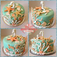 Nautical Cake by Sweet Doughmestics