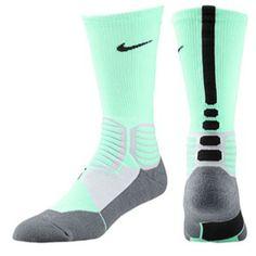 Nike Hyper Elite Basketball Crew Socks - Men\u0026#39;s
