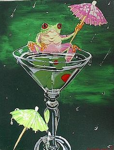 Neat Frog Art ~unknown