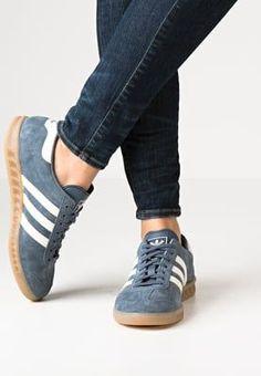 adidas Originals HAMBURG - Sneakers - tech ink/offwhite - Zalando.se adidas shoes women - amzn.to/2ifyFIf Clothing, Shoes & Jewelry : Women:adidas women shoes  http://amzn.to/2iQvZDm