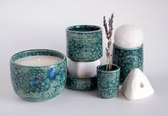 OUI — OUI ceramic soy candles