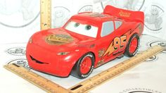 "DISNEY PIXAR CARS FAST TALKIN' 11"" LIGHTNING MCQUEEN H6449 MATTEL TOY VEHICLE #Mattel"