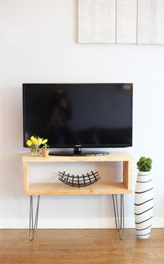 Furniture Making 101: Mid-Century Modern TV Stand / Learn To Build