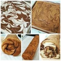 Bolu Gulung Ekonomis ala Chiffon Cake ngirit 4 Telur no Sp/Bp Easy Cake Recipes, Cupcake Recipes, Cupcake Cakes, Simple Recipes, Cup Cakes, Bolu Cake, Japanese Cheesecake, Bread Cake, Chiffon Cake