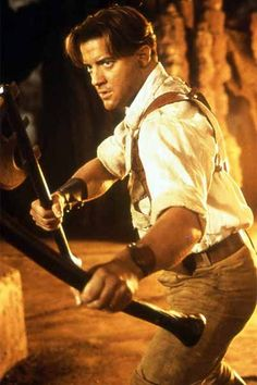The Mummy starring Brendan Fraser Mummy Movie, Movie Tv, Brendan Fraser The Mummy, Cinema Tv, Cinema Movies, Indie Movies, Call Of Cthulhu Rpg, Image Film, Romantic Comedy Movies