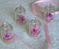 Small Glass Cloche Party Name Tag Place Setting or Glass Display - Fairy Party -  Bridal Shower - Engagement Party - Upcycled - 34 available on Etsy, $6.00
