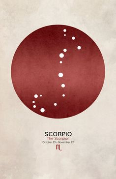 Scorpio is:  Determined and forceful Emotional and intuitive Powerful and passionate Exciting and magnetic