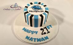 Cakes By The Lake provides a delicious range of cakes for your next birthday, wedding, engagement or any occasion right across the Newcastle and Lake Macquarie region 8th Birthday, Birthday Cake, Shark Cake, Chocolate Mud Cake, Sport Cakes, Cake Creations, Sharks, Cake Designs, Cake Ideas