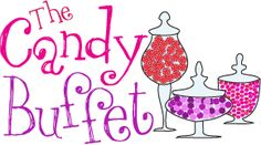 Lots of candy buffet ideas