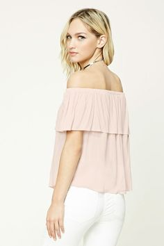 Contemporary Flounce Top | LOVE21 - 2000208442