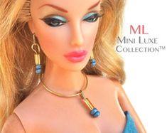 Moda bambola Collana  Barbie Jewelry  Bambole di Royalty di