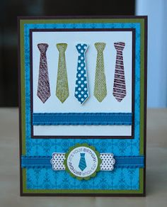 Julie's Japes - An Independent Stampin' Up! Demonstrator in the UK: Last of the Best Dad Ever class