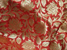 Useful Pur Saris En Soie à Imprimé Floral Déco Craft Tissu Vintage Utilisé Vert 5yd Discounts Sale Femmes: Vêtements