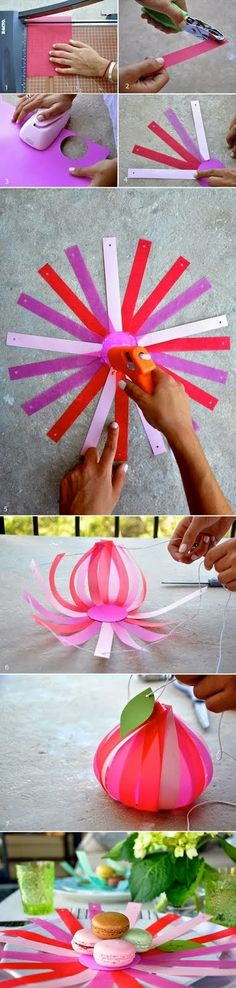 Present your cookies in a different way! These would make cool lanterns!