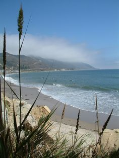 Beach in Ventura, California