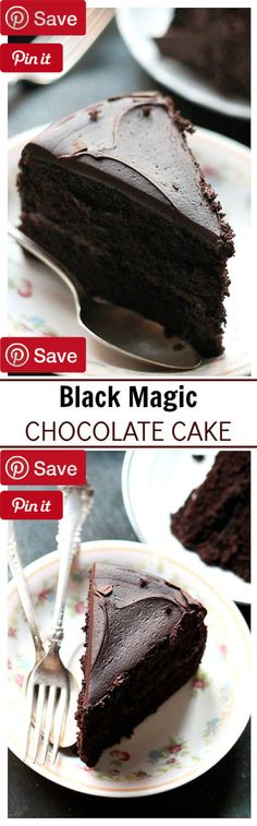 Black Magic Chocolate Cake  50 mins to make - Ingredients  Vegetarian  Refrigerated  2 Eggs  Baking & Spices  1  cups All-purpose flour  1 tsp Baking powder  2 tsp Baking soda   cup Cocoa powder  1 tsp Salt  1 bag Semi sweet chocolate chips  2 cups Sugar  1 tsp Vanilla extract  Oils & Vinegars   cup Vegetable oil  Drinks  1 cup Coffee strong black  Dairy  1 Butter  1 stick Butter  1 cup Buttermilk  1  cups Heavy whipping cream