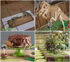 Quaintly Garcia: Dinosaur Party Ideas