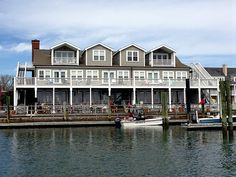 The Queen Anne's Revenge is named in honor of Beaufort's most infamous resident, Blackbeard. The full-service restaurant overlooks the Beaufort, North Carolina waterfront.  (Photo by Betsy Cartier)
