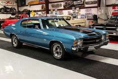◆1971 Chevy Chevelle SS◆ A great Chevelle that looks pretty much stock - I love it! http://oldcarshopper.com