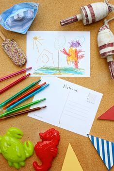 Hand-Drawn Holiday Postcards 1
